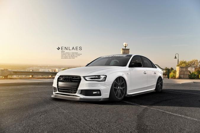 Audi A4 S4 Enlaes Eb8x Aero Kit By Enlaes Carninja