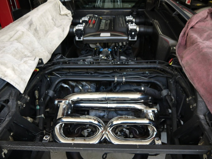 Lamborghini Murcielago Exhaust Install By Raging Bull Performance